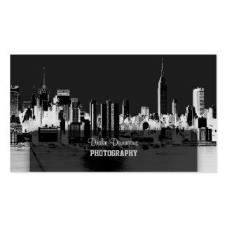 PixDezines City Scape, New York Skyline Pack Of Standard Business Cards