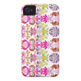 PixDezines colorful Isabella Damask/DIY color Case-Mate iPhone 4 Case