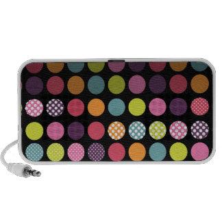 PixDezines Colorful Polka Dot iPod Speaker