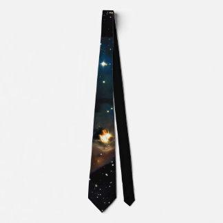 PixDezines COSMIC ASTRONOMY EXPLORATION/GALAXY Tie