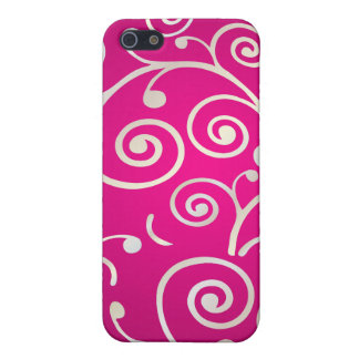 PixDezines Cupcake Swirls, faux pearl+14 colors iPhone 5/5S Cases