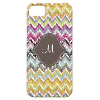 PixDezines diy background color/ikat chevron Barely There iPhone 5 Case