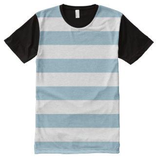 PixDezines DIY color adjustable stripes All-Over Print T-Shirt