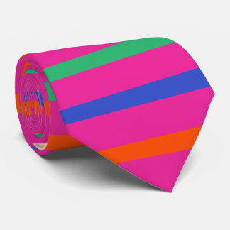 PixDezines diy colors/adjustable stripes Tie