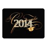PixDezines diy colour 2014 bling, bling graduation Personalized Announcement