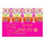 PixDezines diy colour/rsvp isabella, Bat Mitzvah Personalized Invitation