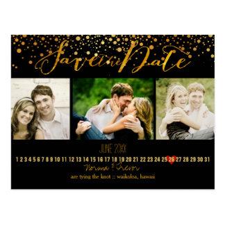 PixDezines DIY/save the date/dazzled Post Cards
