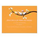 PixDezines doves/love birds/diy colour Custom Invites