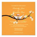 PixDezines doves/love birds/diy colour Personalized Announcements
