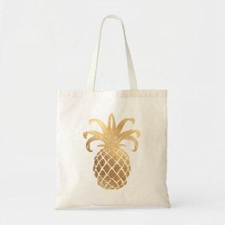 PixDezines Faux Gold Pineapple