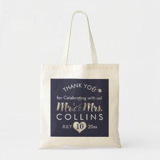 PixDezines Faux Silver Heart/Mr.&Mrs./Thank You
