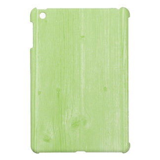 PixDezines faux wood fence/green/6 colors iPad Mini Cover