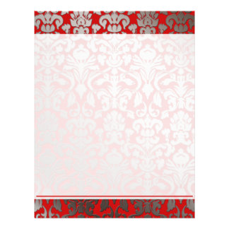 PixDezines flora damask/DIY background 21.5 Cm X 28 Cm Flyer