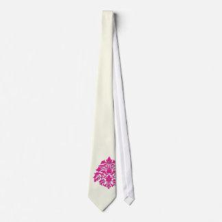 PixDezines Florentius Damask/Cream/DIY Tie