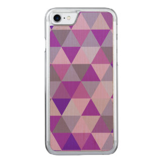PixDezines geometric/blue hyde Carved iPhone 8/7 Case