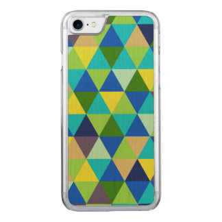 PixDezines geometric/green/blue/teal Carved iPhone 8/7 Case