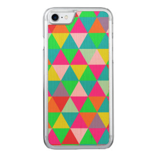 PixDezines geometric/green/orange/teal Carved iPhone 8/7 Case