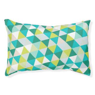 PixDezines geometric teal green