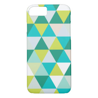 PixDezines geometric teal green iPhone 7 Case
