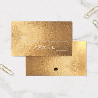 PixDezines Gold/Faux Foil/Place Cards