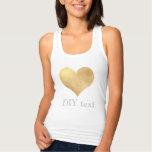 PixDezines gold heart Tshirts