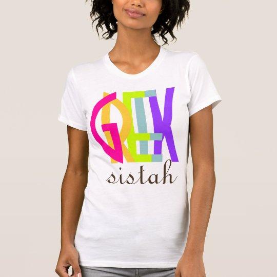 PixDezines Greek sistah! T-Shirt