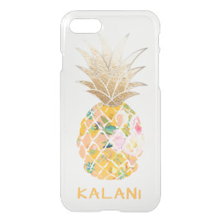 PixDezines Hawaii/Aloha Pineapple iPhone 7 Case