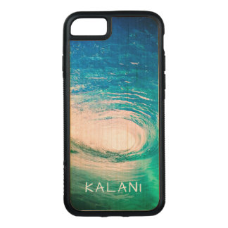 PixDezines Hawaii Pipeline/Surf/Waves Carved iPhone 8/7 Case