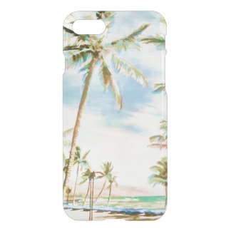 PixDezines Hawaii/Vintage/Beach/Blue Sky iPhone 7 Case
