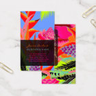 PixDezines Hawaiian Jungle 3 - DIY Background Business Card