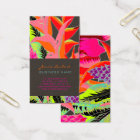 PixDezines Hawaiian Jungle 3/DIY background colour Business Card