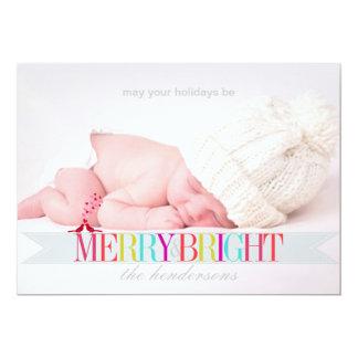 PixDezines holidays photo template 13 Cm X 18 Cm Invitation Card