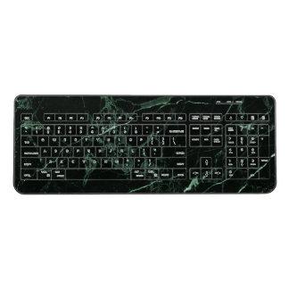 PixDezines HUNTER GREEN MARBLE Wireless Keyboard
