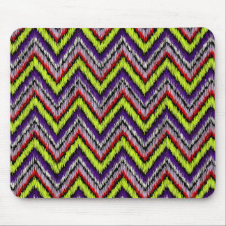 PixDezines ikat chevron/DIY background Mouse Mat
