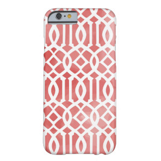 PixDezines indochine trellis/watercolor affects Barely There iPhone 6 Case