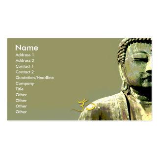 PixDezines japanese buddha Pack Of Standard Business Cards