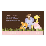 PixDezines Jungle of Fun Daycare Pack Of Standard Business Cards