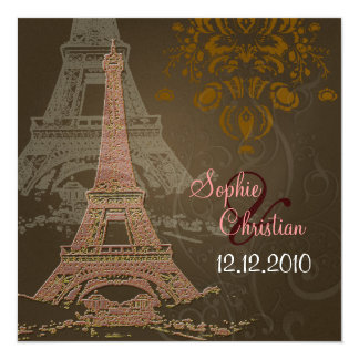PixDezines La Nuit Paris Invitations