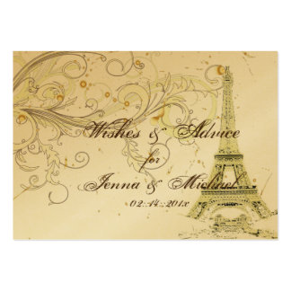PixDezines la tour eiffel/paris Business Card