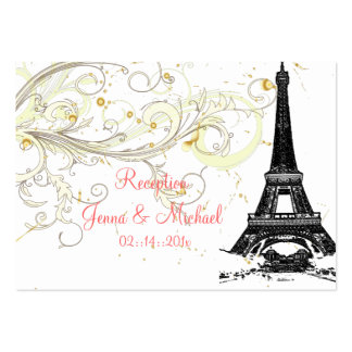 PixDezines la tour eiffel/paris Business Cards