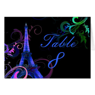 PixDezines la tour eiffel/paris Greeting Card