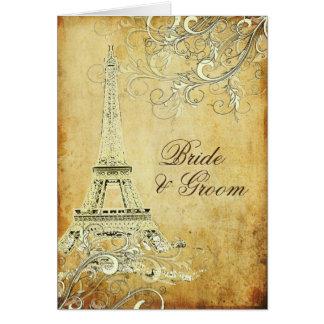 PixDezines la tour eiffel paris Greeting Cards