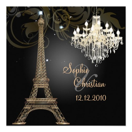 PixDezines la tour eiffel/paris Custom Announcements