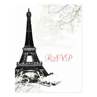 PixDezines la tour eiffel/paris Postcards