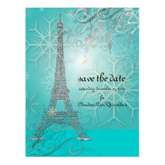PixDezines la tour eiffel/paris Post Cards