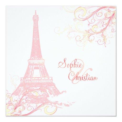 PixDezines La Tour Eiffel + swirls