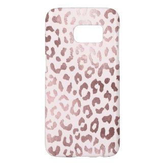 PixDezines Leopard Print/Faux Rose Gold