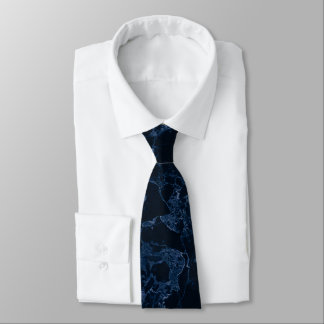 PixDezines Marble Slab, Midnight Blue Tie