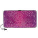 PixDezines Marie Antoinette Hot Pink/Fuschia Notebook Speakers