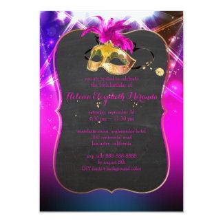 PixDezines Masquerade/Quince/Laser Lights Card